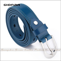 Zhuangdong Wholesale Leisure Jeans Pin Buckles Genuine Leather Women Leather Belt