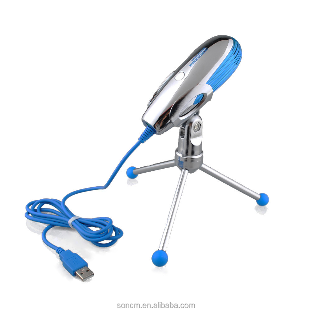 2017 China New Design Whale Factory Price wired USB microphone