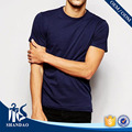 Guangzhou Shandao Men OEM Short Sleeve Crew Neck Blue 140g 100%Cotton Slim Fit Hot Sale Soft International Basic Source T Shirt