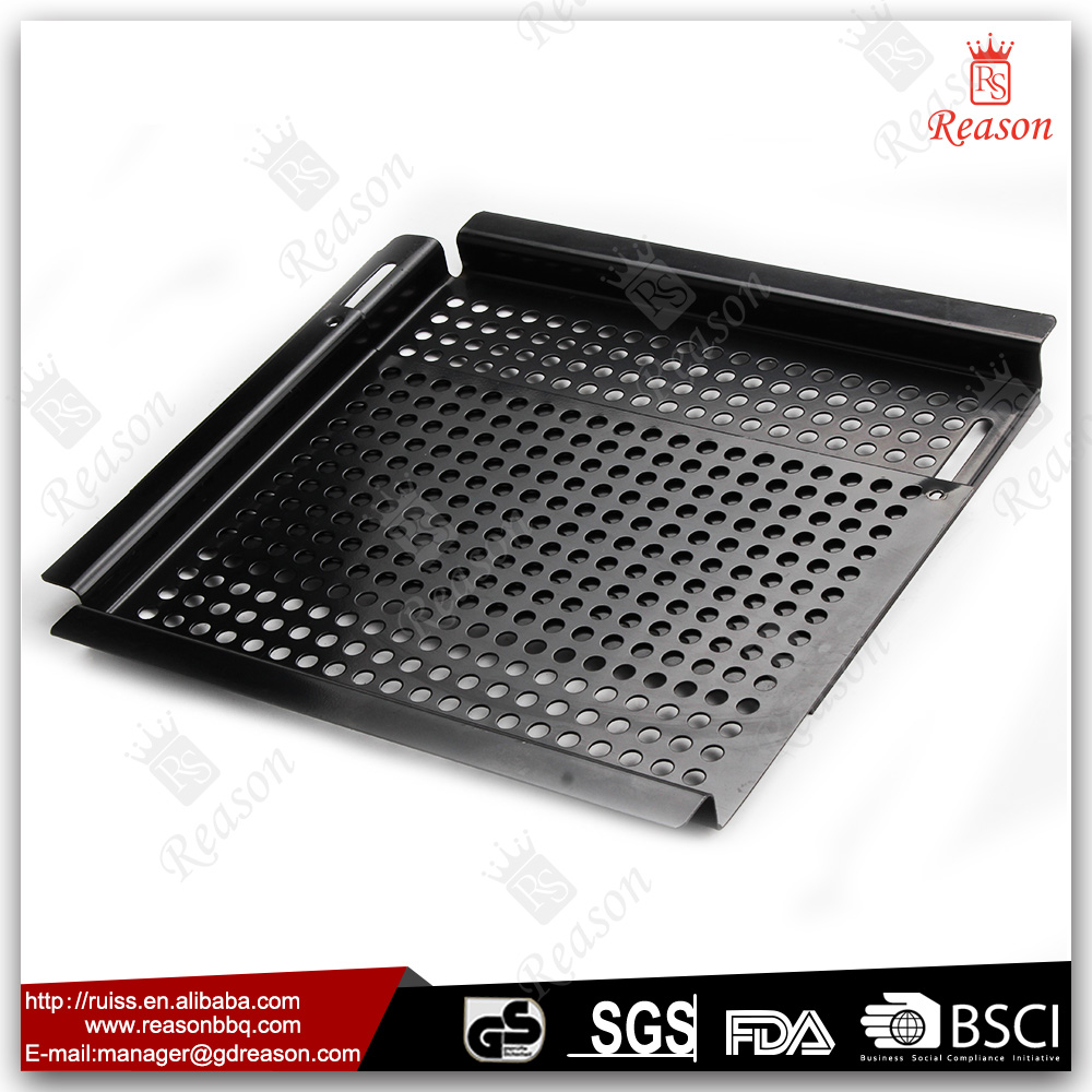 Outdoor Environment-friendly Used Doors Double Sided Grill Pan