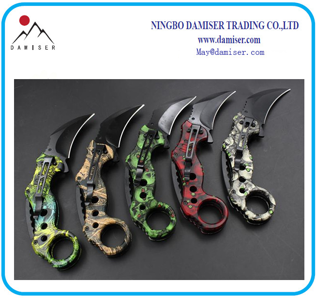 Folding Camping Knife Jungle Knife Claw Knife