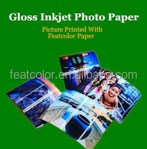 Bulk high quality A4 instant glossy photo paper