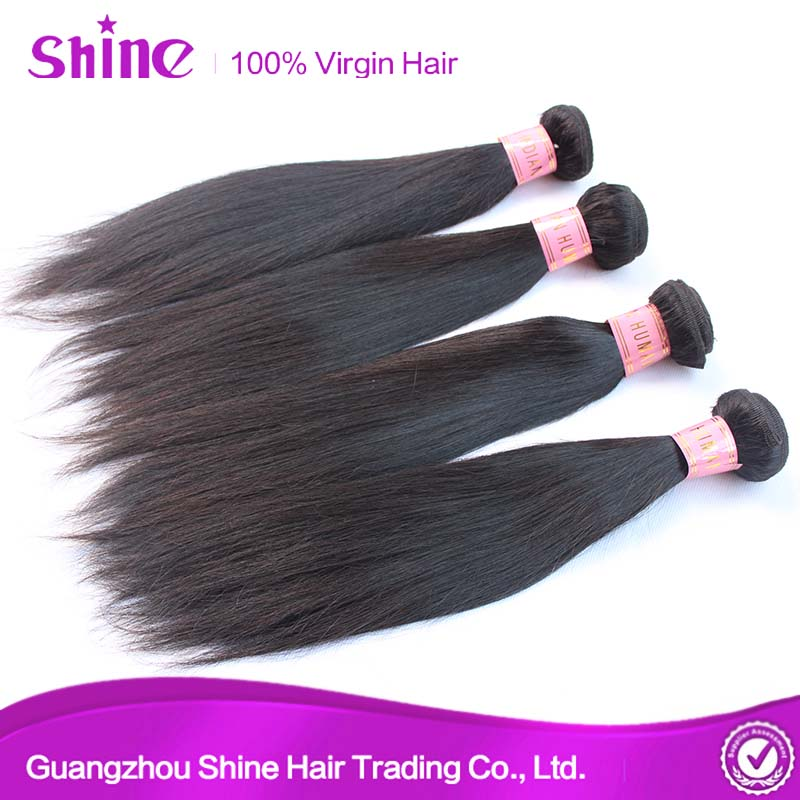 7A Brazilian Remy Straight Real Human Hair For Sale China