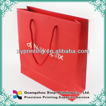 High Quality Christmas Custom Recyclely Wine Paper Bag
