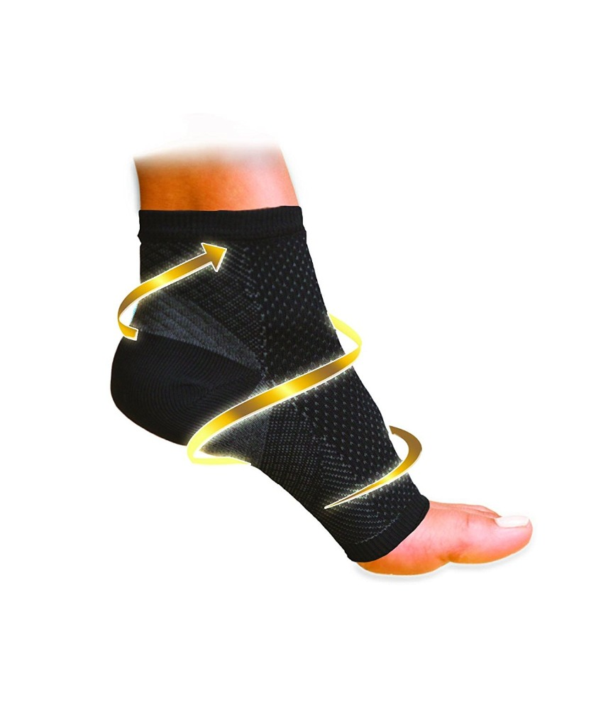 Unisex compression foot sleeve/Fasciitis Compression Ankle Brace/Plantar ankle sock
