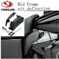 Abs black color motorcycle wind deflector for harley davidson