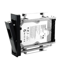 3.5 SATA hard drive caddy tray multi-function 2.5 hard disk case 3.5 SATA bracket internal enclosure hdd caddy