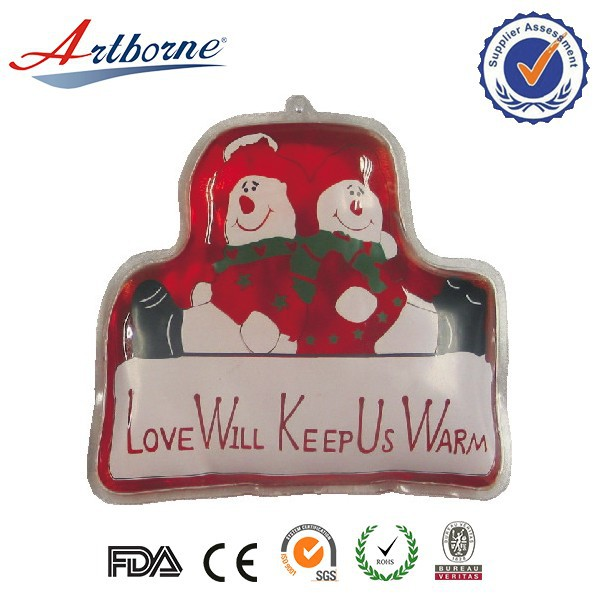 Healthcare product wholesale snowman metal disc hot hand warmer