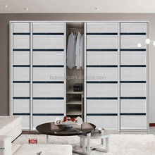 Modern bedroom wardrobe/closet/cabinet design, wheels sliding wardrobes