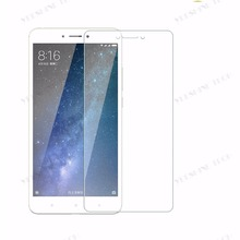 Easy Install Anti-Scratch/Explosion Tempered Glass Mobile Screen Protector For Xiaomi Max