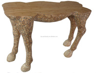 Wood animal shape coffee table