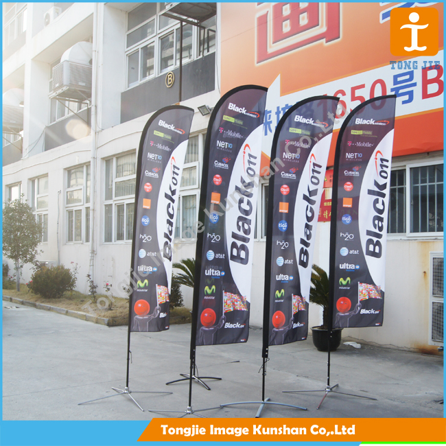 different/special materials made by solvent printing flag material