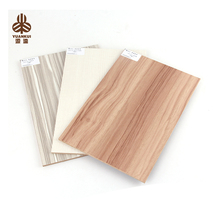 Standard Size High Quality Wood Grain Melamine Covered Mdf Board