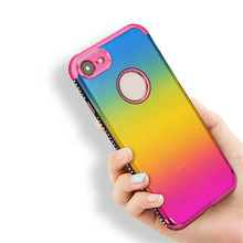 2018 Newest product,unique design mobile phone cover case for iphone 7,colorful cell phone case for iphone7 plus
