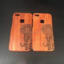 Wholesale 100% real phone case wood for huawei p10 lite