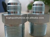 Carbon steel hydraulic adaptor fitting