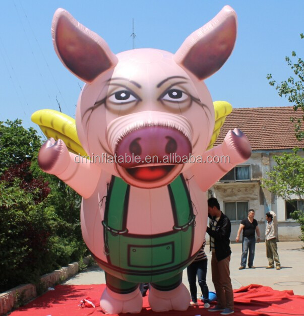 giant outdoors inflatable promotion pig product