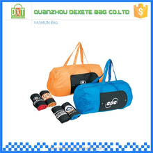 Top sale customized colorful single strap travel duffle bag 70D nylon waterproof sports bag