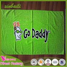 100 cotton terry cloth reactive printed beach towel from china wholesaler