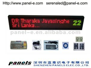 Hot sale 2012 new product ,P4.75 led moving sign ,led widow advertising signboard