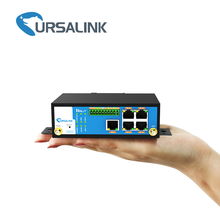 RS232 RS485 Wireless Router Modbus Gateway with Gigabit and LAN for Temperature Controller