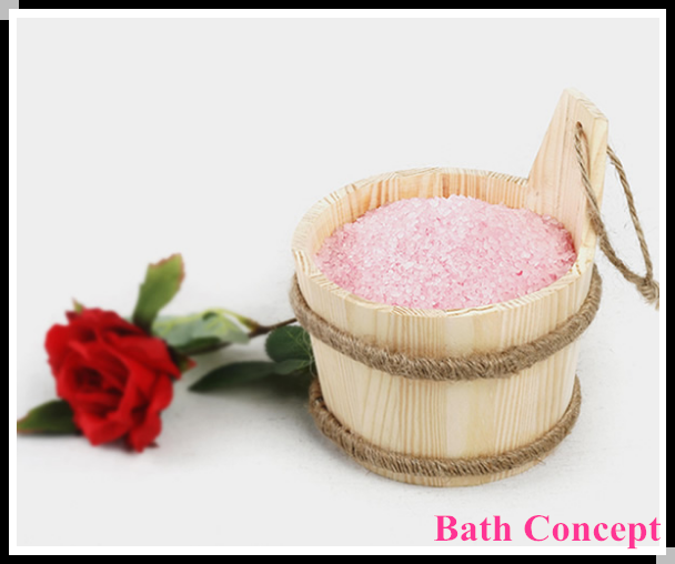 FDA floral Scent Crystal personal care bath salts