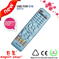 export factory make self-learning stb remote control plastic case