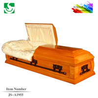 Solid Wood Funeral Supply High Standard