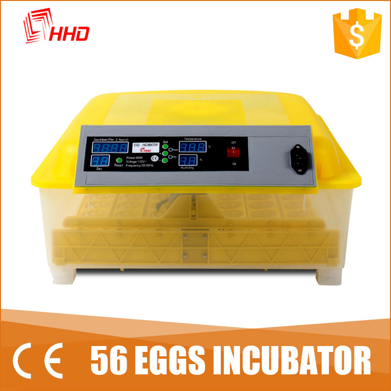 PVC CE certificated poultry incubators in germany for hatching eggs YZ-56