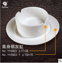 Home use unbreakable melamine ashtray plastic ashtray saucer