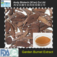 Natural High Quality Garden Burnet Root Extract 10:1