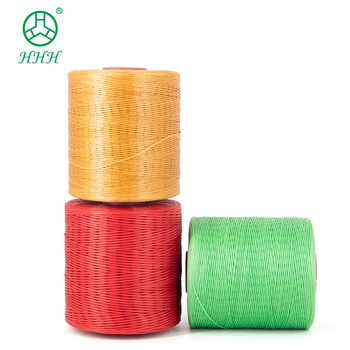 High Tenacity 400g Polyester for Shoes Waxed Thread 240 Colors Polyester Waxed Cord