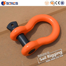 US Type Spraying Plastics Painted Drop Forged G209 Shackle