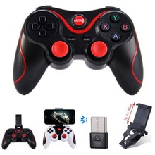 Wireless Game controller Joystick mobile Phone Gamepad with phone holder for Android Tablet PC TV BOX Phone