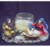 Polyresin Christmas decoration religious nativity candle holder