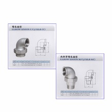Cheap Price Stainless Steel 304/316 Union Elbow/Pipe Fitting Union