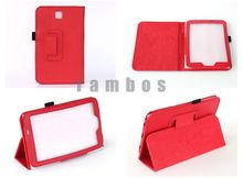 PU Leather Magnetic Smart Cover Folio 7 inch Tablet Cases for Samsung Galaxy Tab 3 7.0 T210 T211