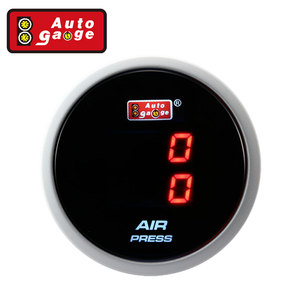 52 mm PSI Dual Automotive Air Pressure Gauge