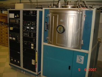 Satis Vacuum 725c Complete Coating Lab