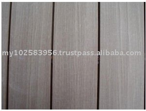 Wood Plastic Composite Flooring with Printed Wood Lines