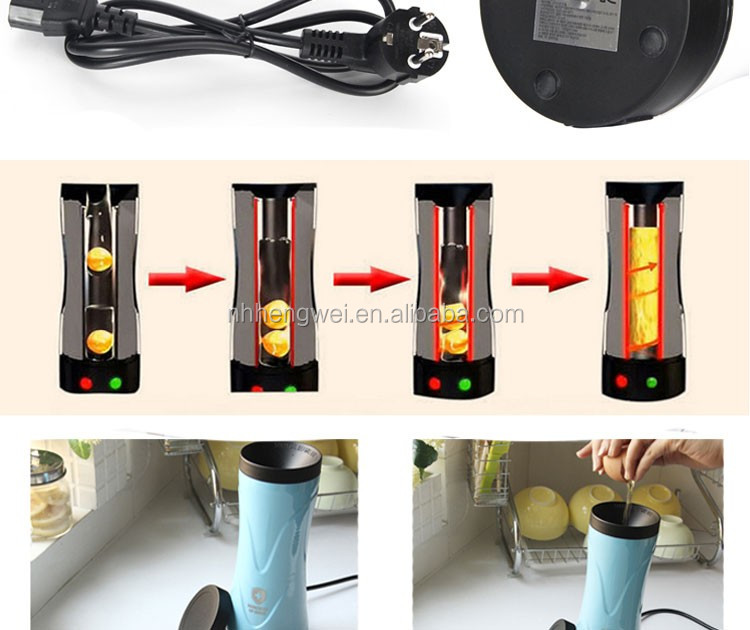 Automatic Electric Rollie Egg Roll Rolling Roller Toaster Master Cooker Maker Making Cooking Machine Cup As