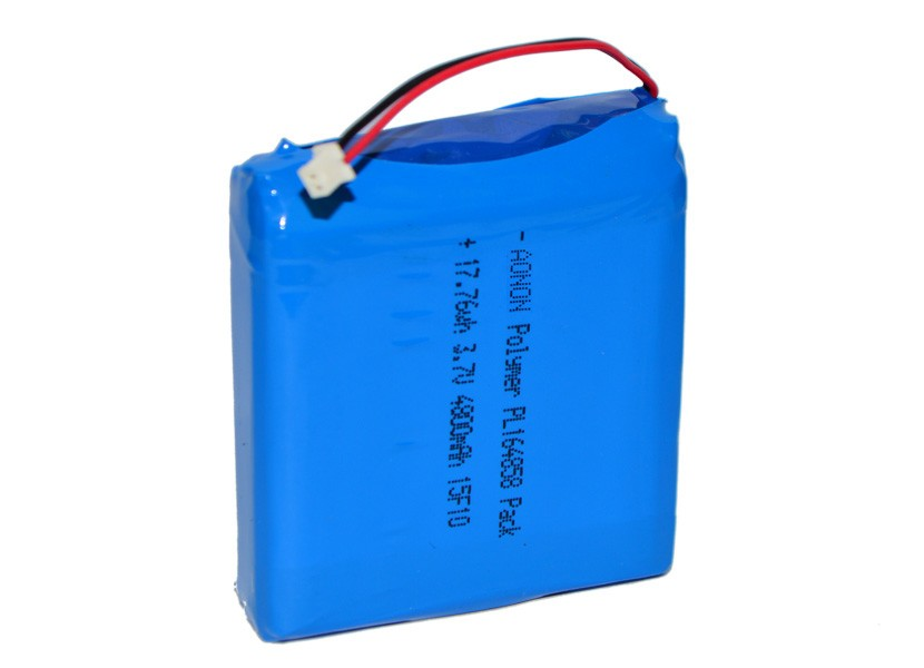 Hot New rechargeable Batteries: 164858-3.7V 4800mAh Lithium Polymer Battery
