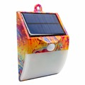 Small led street motion sensor solar light for home safety