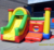 Hola inflatable bouncers/adults bounce house/bouncing house