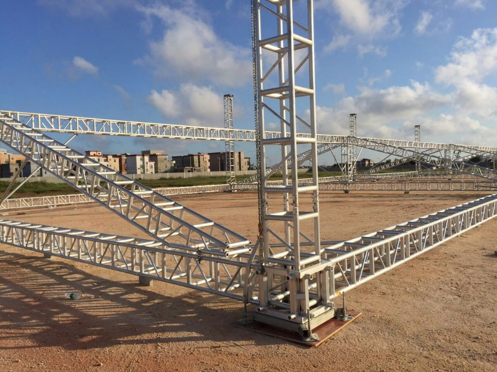 Aluminum roof tent truss with truss motor buy truss for Buy trusses