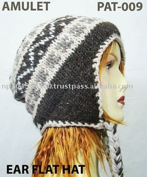 Woolen Ear flap HAt