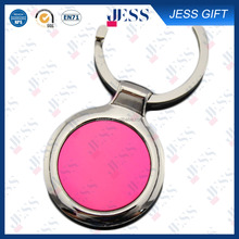 Pink Floating customized keychain for girls
