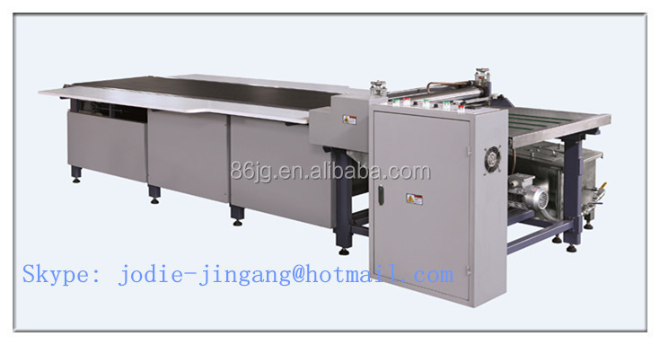 FD-SJ600 Manual Hot melt Gluing Machine for making rigid gift box folding gluing