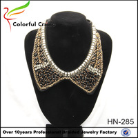 2016 New Design Europe and the United States Exaggerated Full Diamond False Collar Necklace