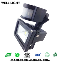 motion sensor floodlight high lumen led flood light garden floodlight